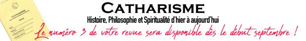 Annonce sortie revue Catharisme
